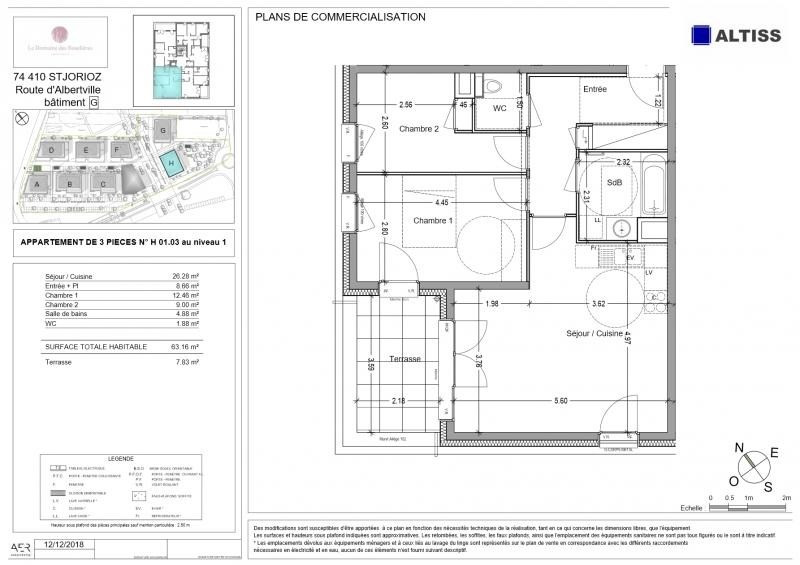 Vente de prestige appartement Annecy 261000€ - Photo 2