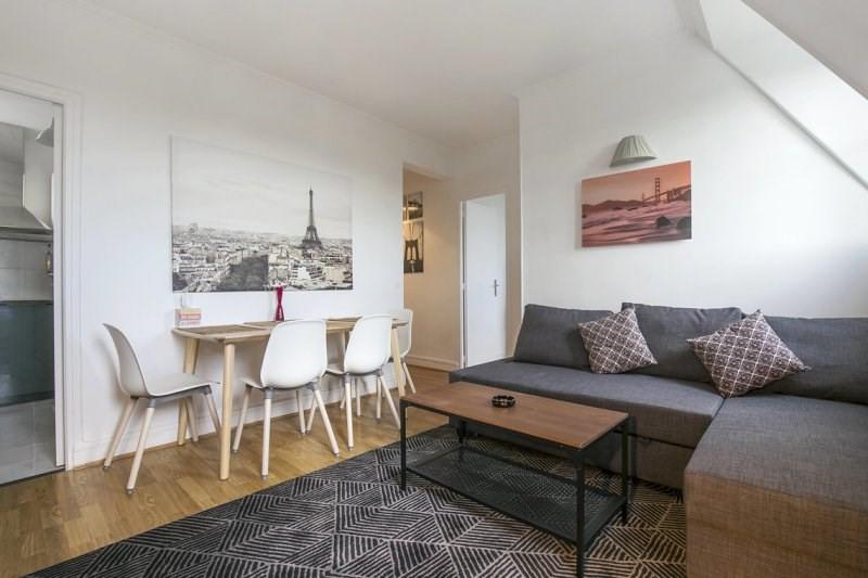 Rental apartment Paris 17ème 1600€ CC - Picture 2