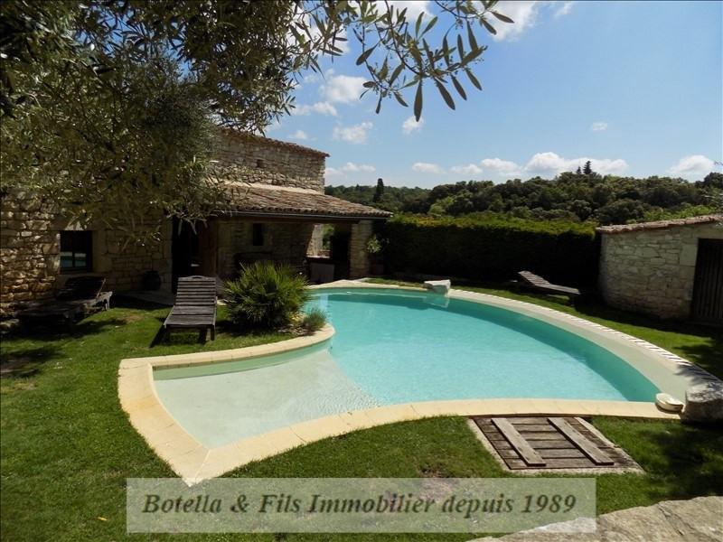 Verkauf von luxusobjekt haus Barjac 489500€ - Fotografie 3