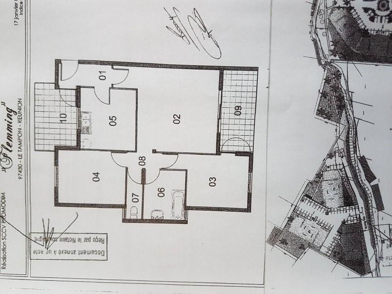 Sale apartment Le tampon 133000€ - Picture 3