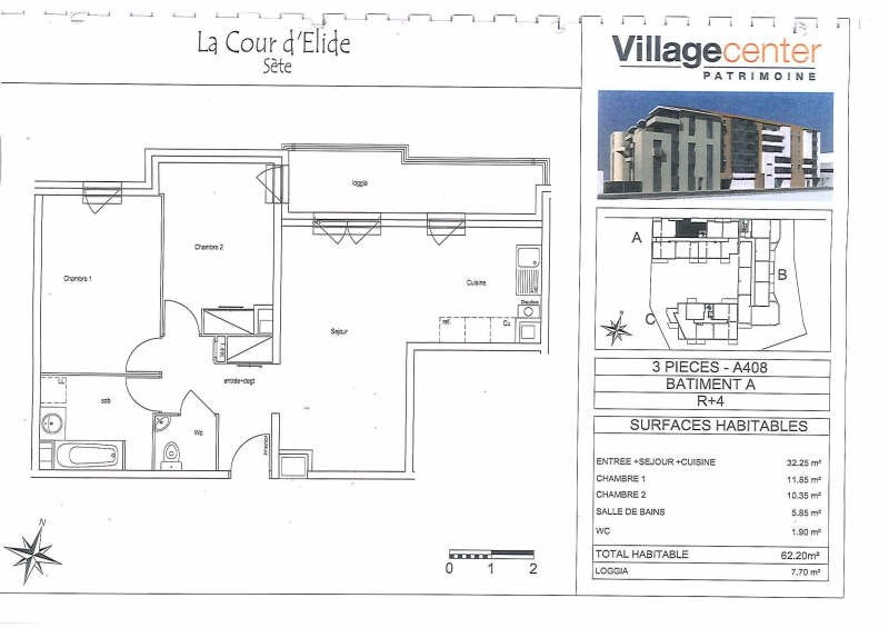 Location appartement Sete 781€ CC - Photo 2