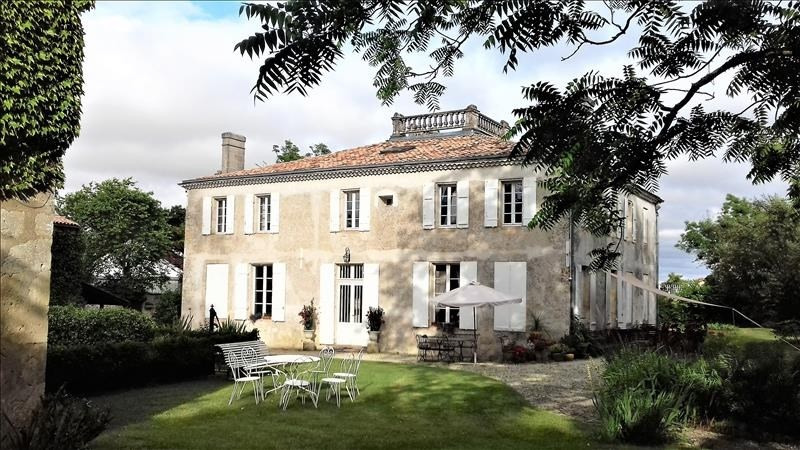 Venta de prestigio  casa St estephe 784000€ - Fotografía 2