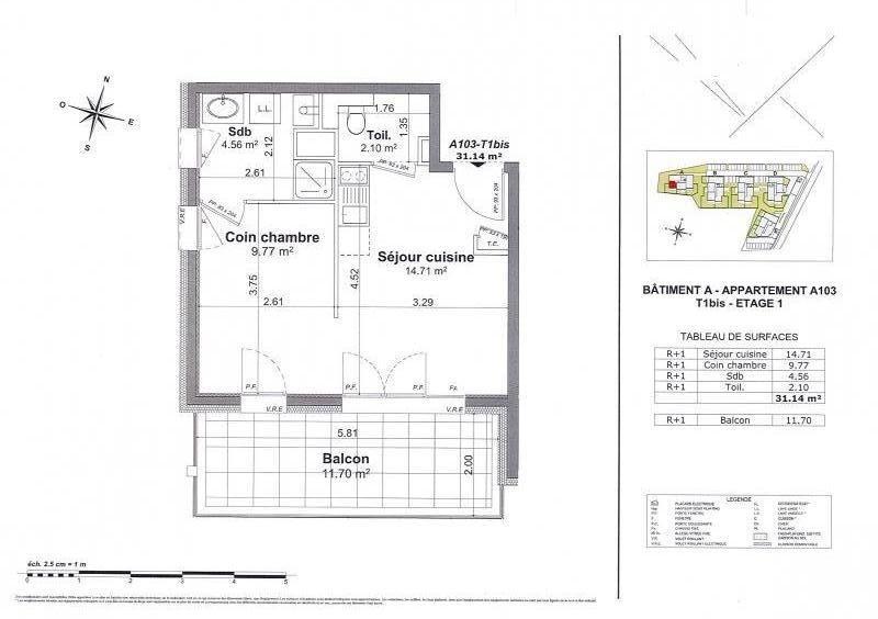 Vente de prestige appartement Ayse 140000€ - Photo 1