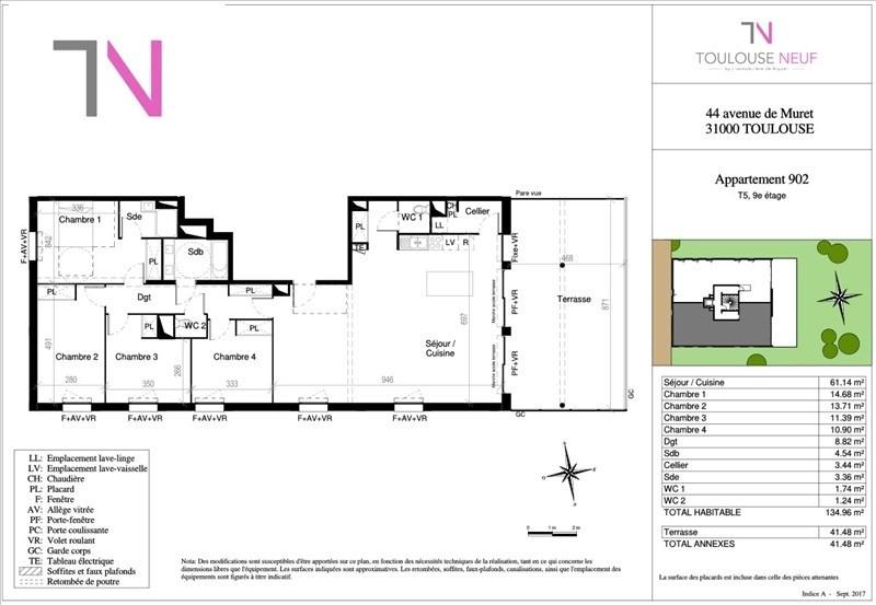 Vente de prestige appartement Toulouse 704000€ - Photo 6