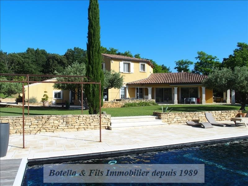 Deluxe sale house / villa Uzes 789 500€ - Picture 1