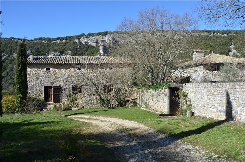Vente de prestige maison / villa Vallon pont d arc 613600€ - Photo 5