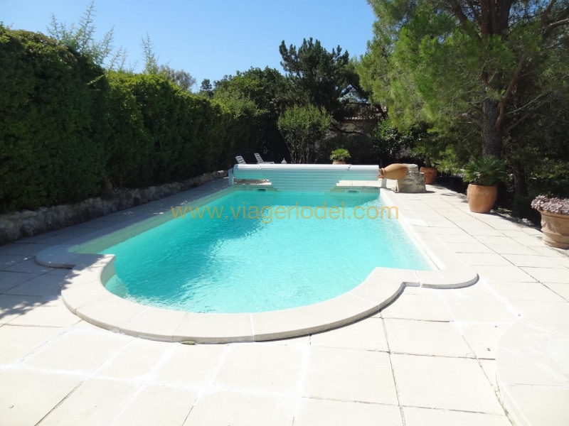 Life annuity house / villa Theziers 70000€ - Picture 5
