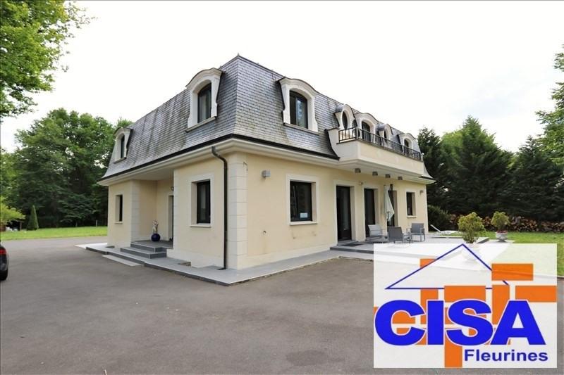 Deluxe sale house / villa Lamorlaye 830000€ - Picture 1