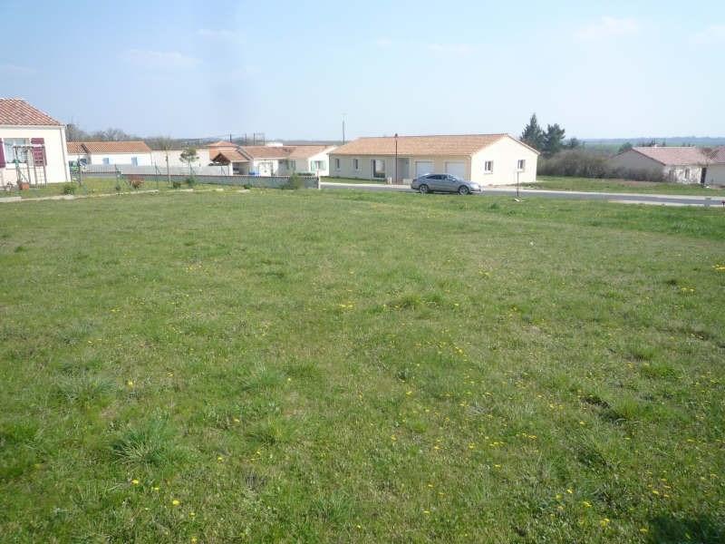 Vente terrain Pamproux 23400€ - Photo 3