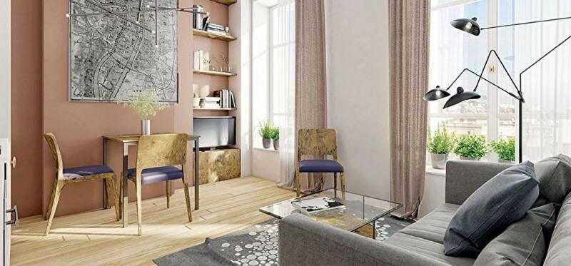 Appartement Lyon 2 pièce(s) 37.20 m2