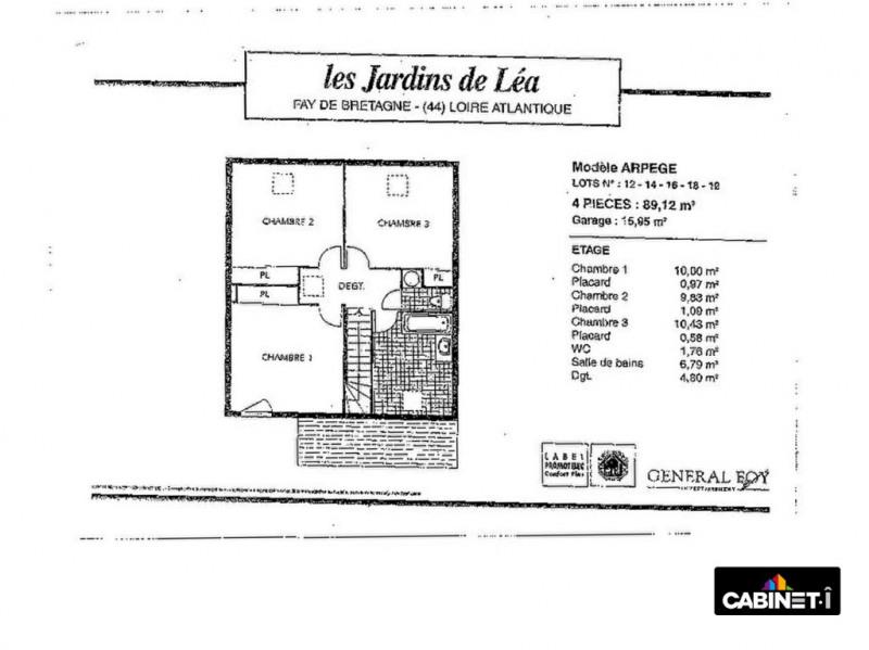 Vente maison / villa Fay de bretagne 174900€ - Photo 12