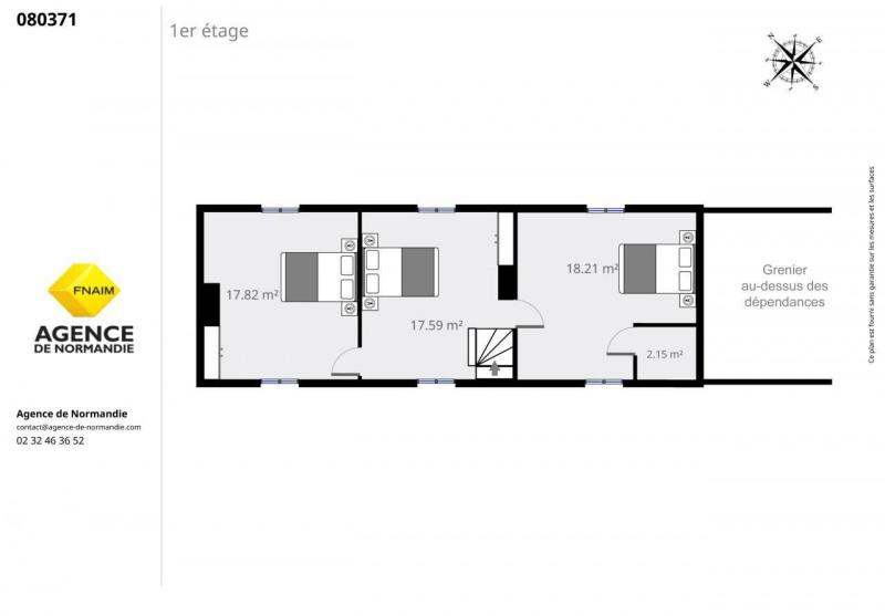 Vente maison / villa La ferte-frenel 80000€ - Photo 9