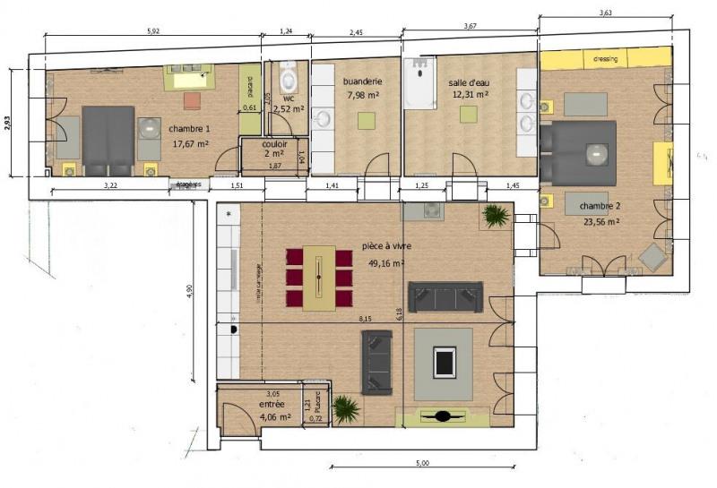 Vente appartement Brunoy 307000€ - Photo 2