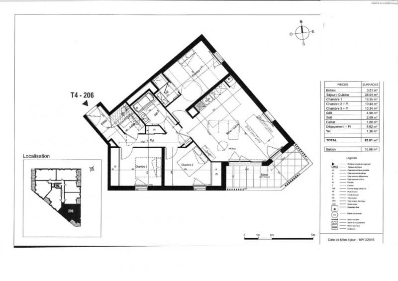 Venta  apartamento Saint nazaire 314000€ - Fotografía 3