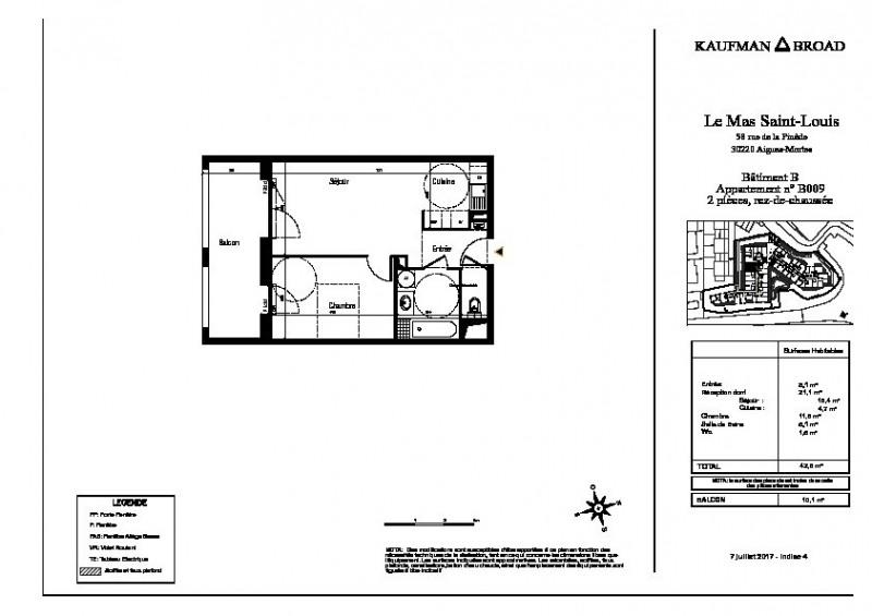 Vente appartement Aigues mortes 171000€ - Photo 3