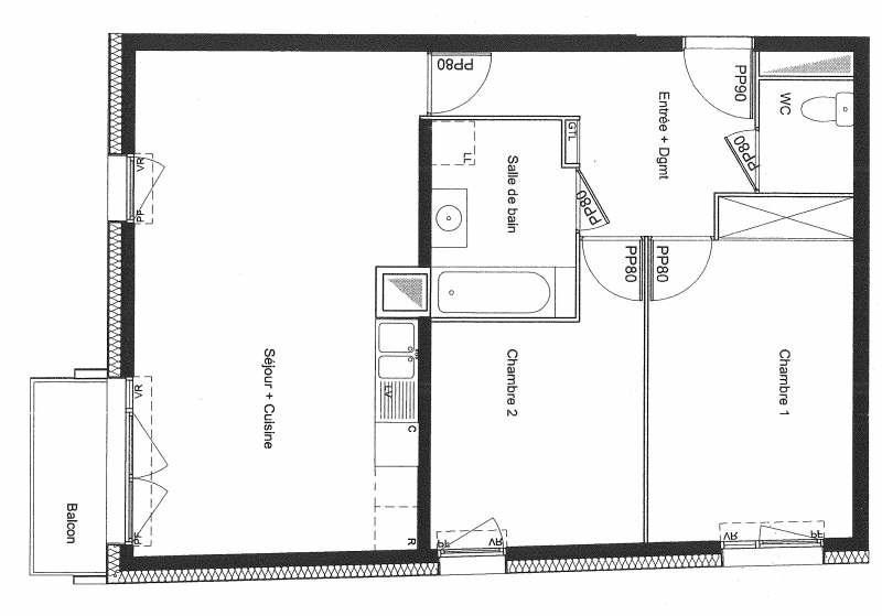 Rental apartment Vitry sur seine 1200€ CC - Picture 2