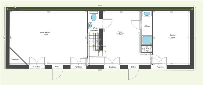 Vente maison / villa Grenoble 345022€ - Photo 6