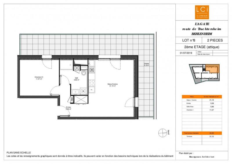 Sale apartment Truchtersheim 163700€ - Picture 2