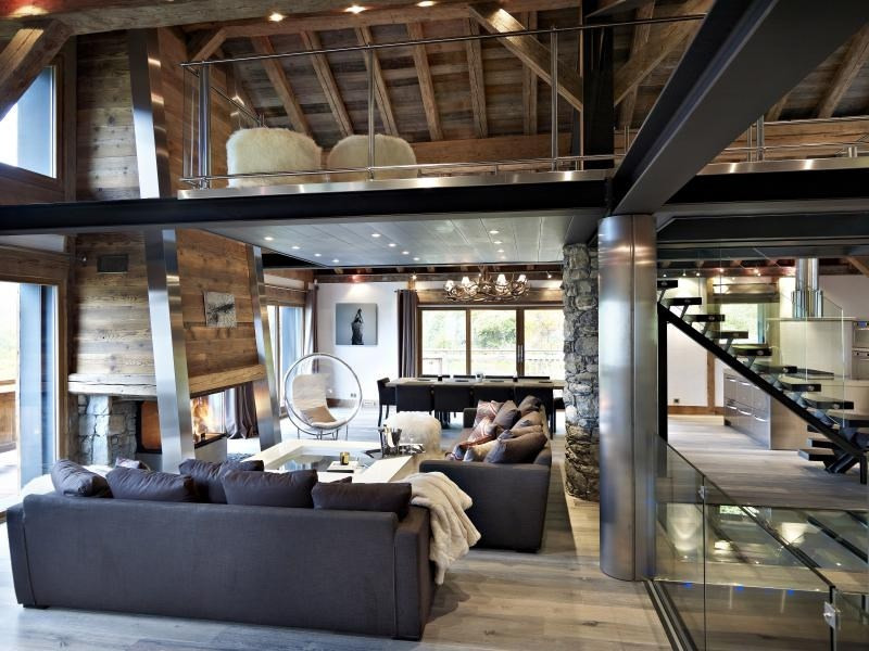 Deluxe sale house / villa Meribel les allues 4 200 000€ - Picture 1