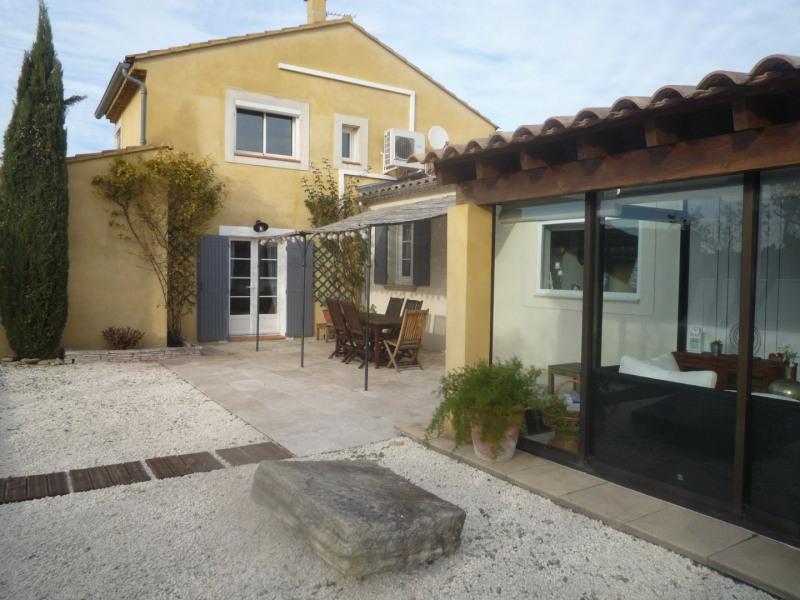 Sale house / villa Courthezon 367500€ - Picture 1