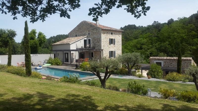 Immobile residenziali di prestigio casa Barjac 945000€ - Fotografia 1