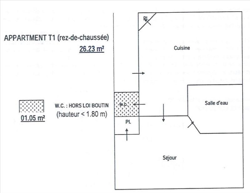 Vente appartement Hyeres 62000€ - Photo 6