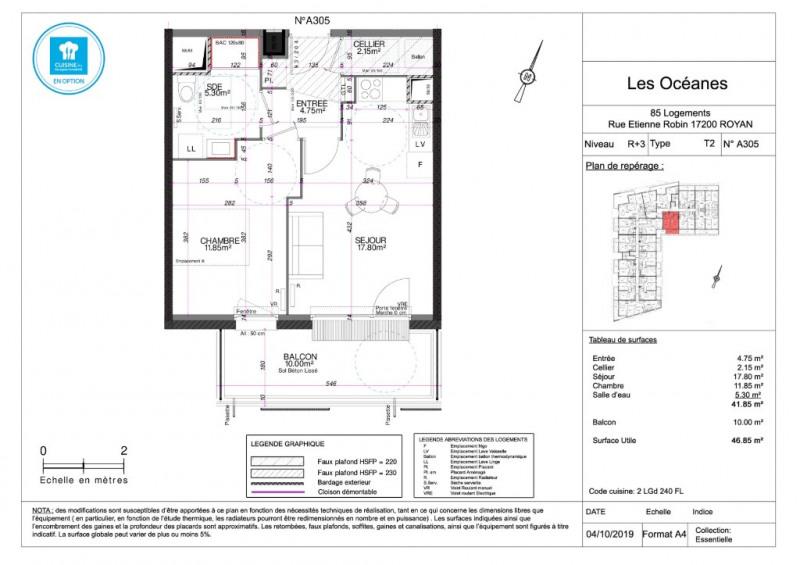 Sale apartment Royan 144000€ - Picture 4