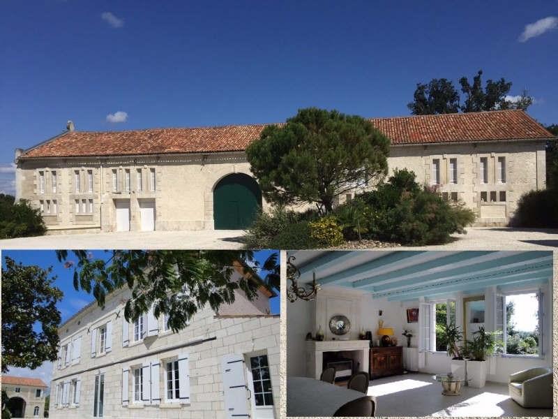 Vente de prestige maison / villa St georges des coteaux 775000€ - Photo 1