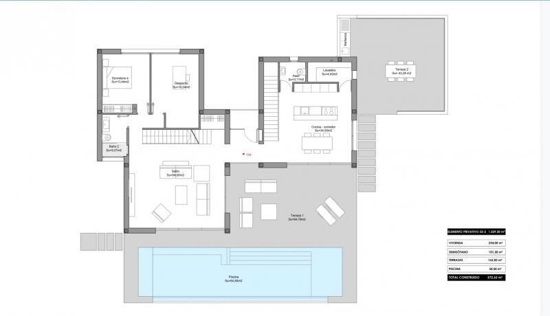 Venta de prestigio  casa Orihuela 1200000€ - Fotografía 5