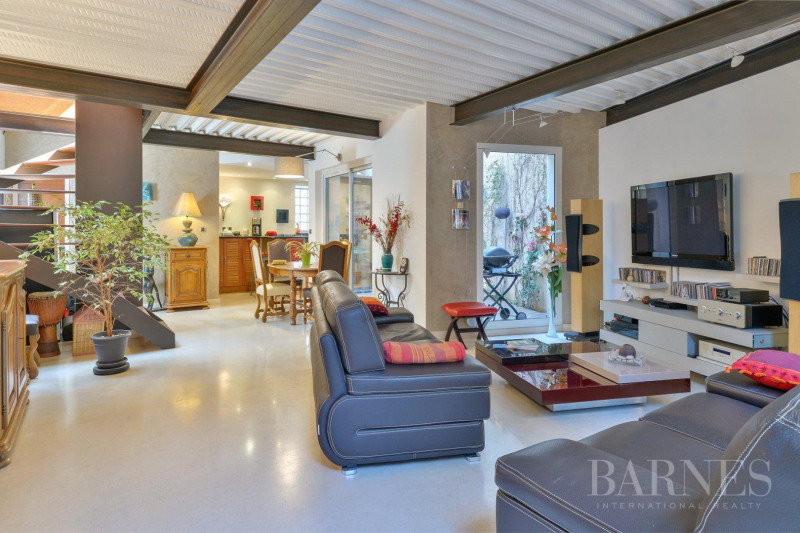 LYON 9 - Loft 1259,38 sq ft - 2 bedrooms - Terrace and garden
