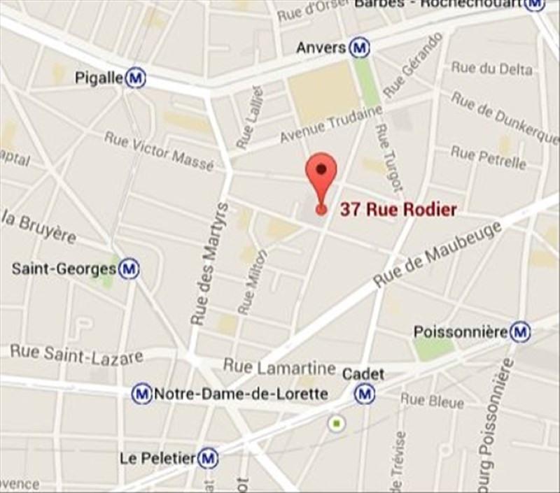 Rental apartment Paris 9ème 1600€ CC - Picture 9