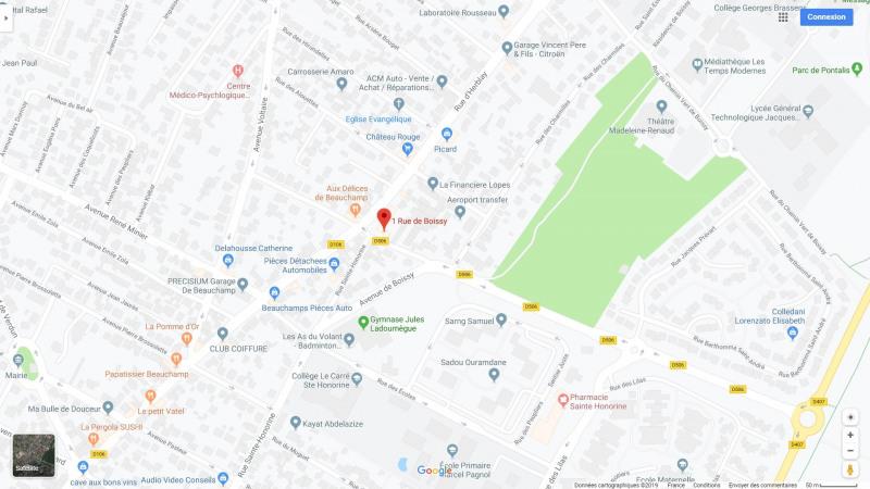 Rental parking spaces Taverny 85€ CC - Picture 3