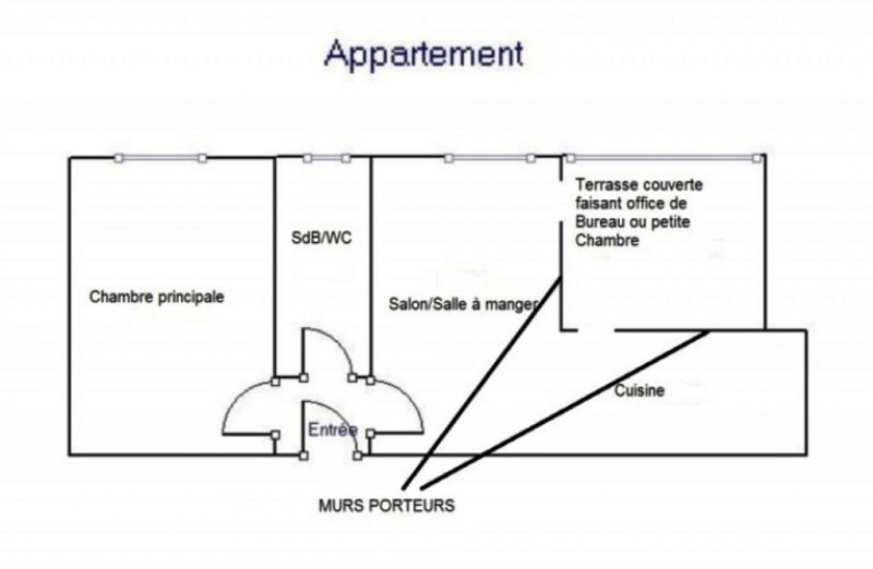 Vente appartement Ajaccio 130000€ - Photo 13