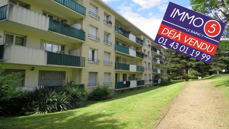 Sale apartment Bondy 164000€ - Picture 1