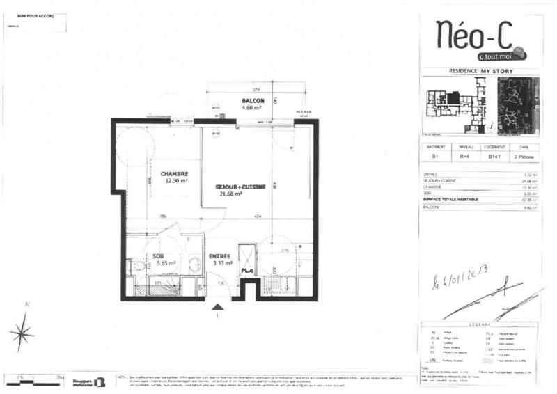 Rental apartment Créteil 850€ CC - Picture 1