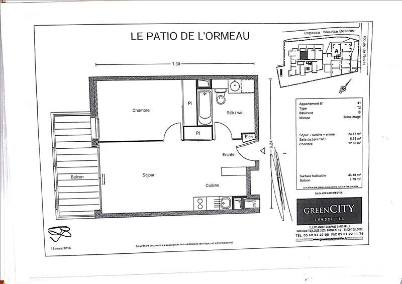 Location appartement Toulouse 636€ CC - Photo 7