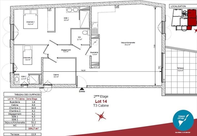Vente de prestige appartement Bormes les mimosas 595000€ - Photo 2