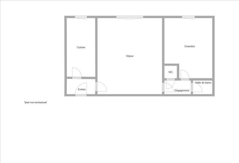 Vente appartement Puteaux 349000€ - Photo 2