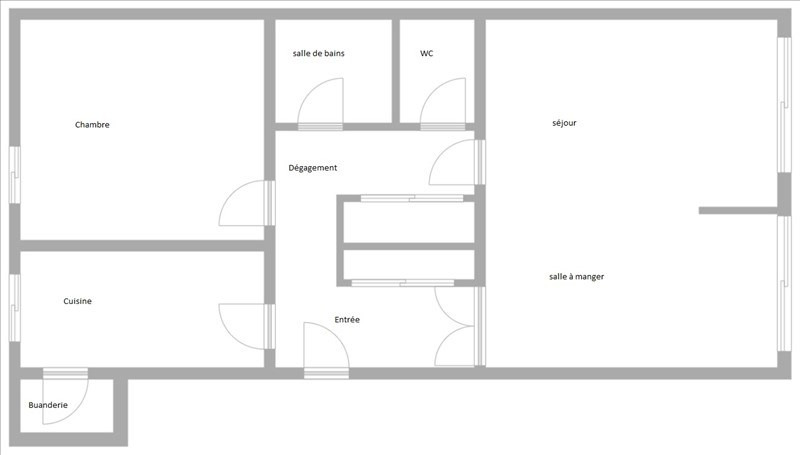 Vente appartement Suresnes 390000€ - Photo 6