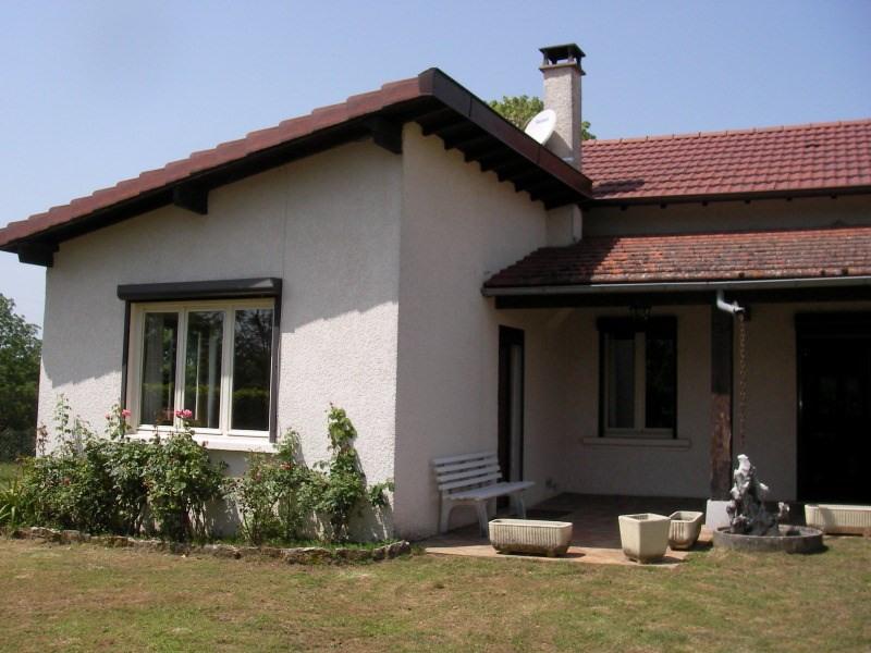 Location maison / villa Bouvesse quirieu 616€ CC - Photo 1