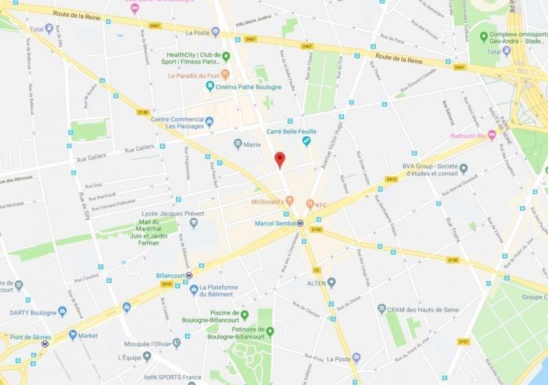 Vente de prestige appartement Boulogne billancourt 322000€ - Photo 1