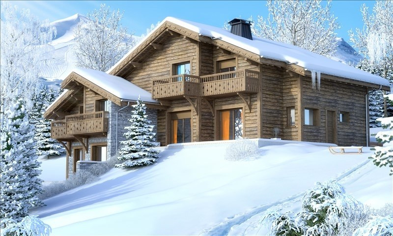 Vente de prestige appartement Grand bornand 665 000€ - Photo 1