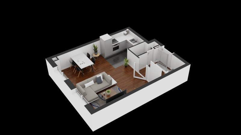 Venta  apartamento Linas 126150€ - Fotografía 3