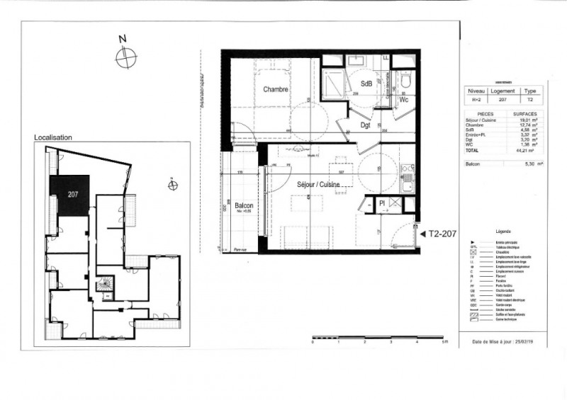 Vente appartement Rennes 221000€ - Photo 3