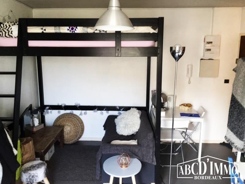 Vente appartement Bordeaux 140000€ - Photo 2