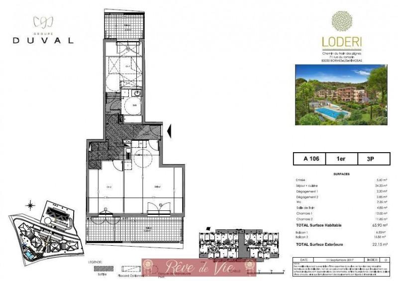 Sale apartment Bormes les mimosas 353000€ - Picture 1