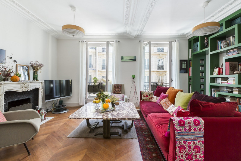 Deluxe sale apartment Paris 6ème 1 790 000€ - Picture 1