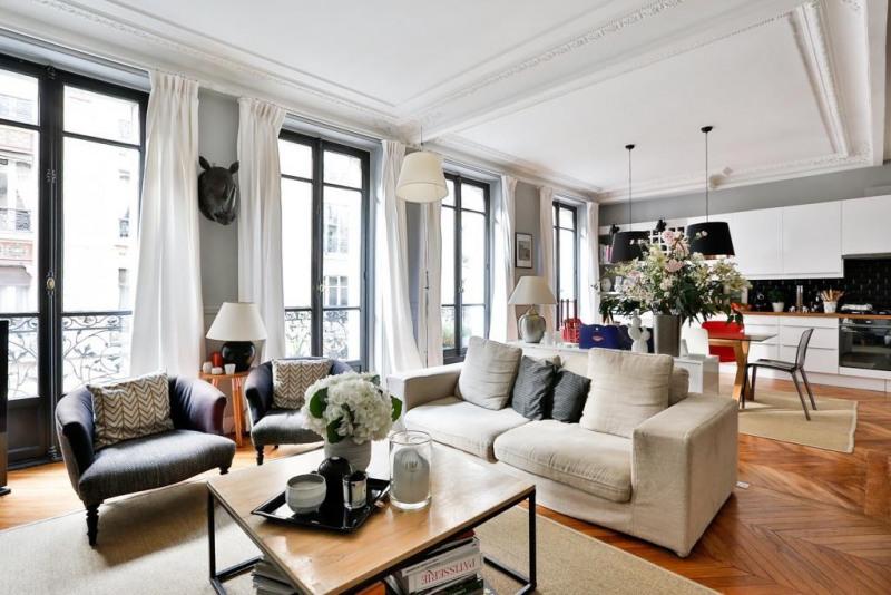 Deluxe sale apartment Paris 17ème 1390000€ - Picture 2