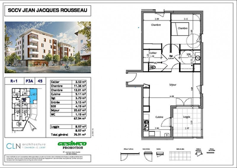 Produit d'investissement appartement Nimes 209 000€ - Photo 2