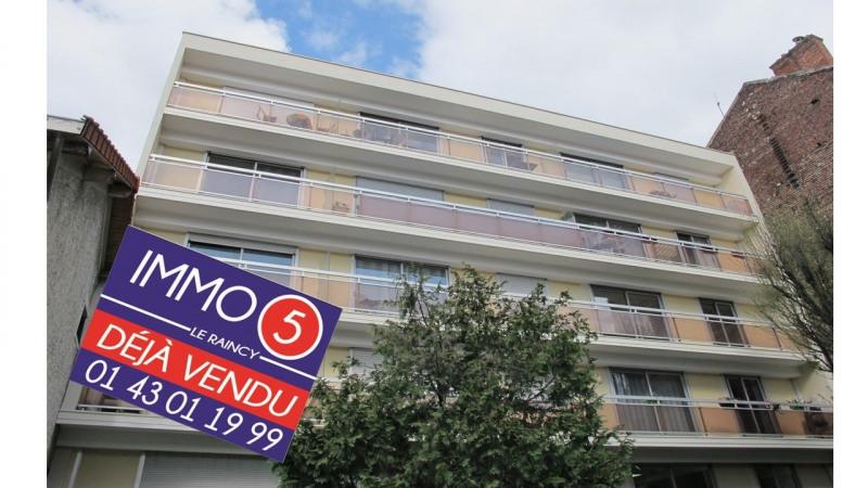Sale apartment Villemomble 263000€ - Picture 1